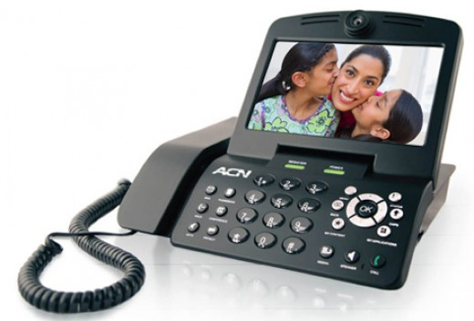 ACN Video Phone - Face to Face Long Distance Relationships has Never Been Better, Without the Travel. See Who You Want from Your Own Home or Office via the New ACN Video Phone.