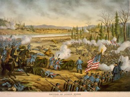 Battle at stones river.