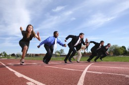 Do you feel like you're always in a race to finish your work?
