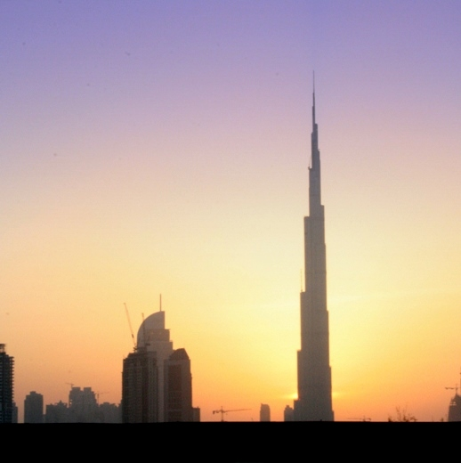 The Burj Khalifa eclipses all other buildings around it in terms of height