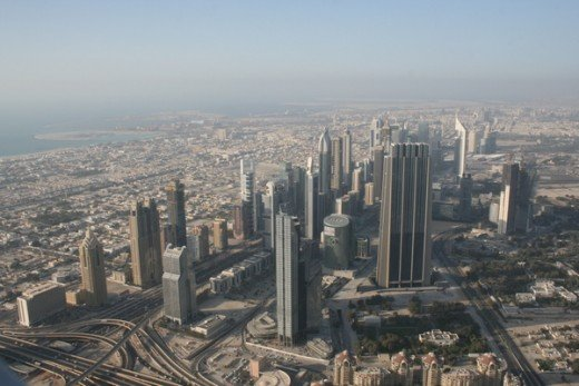 Dubai is still developing but is a busy and vibrant city.