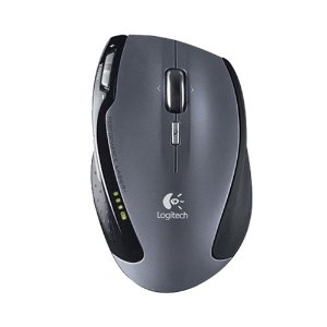 Logitech VX Revolution Ergonomic Design Cordless 2.4 GHz Wireless Laser Mouse