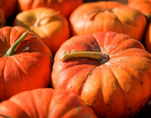 Pumpkin is a good source of vitamin A