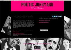 www. poeticjunkyard. com