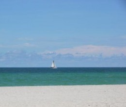 Hollywood Beach- pic taken by my sister on her daily walk