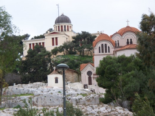 Churches. Athens, Greece