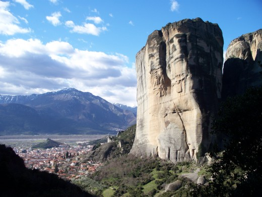 The peaks of Meteora, Meteora, Greece