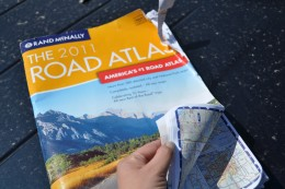 Whether you are taking a road trip or just driving to the airport, you should always make sure you have an Atlas tucked under your seat. You can always tell a well used map - the edges are often tattered and torn!