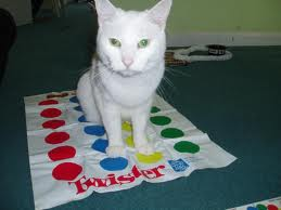 """THEY BREAK OUT THE TWISTER """"Okay..who's feeling super flexible today?"""""""