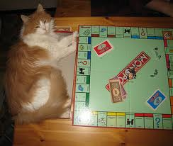 """THEY GO TO TOWN ON MONOPOLY """"You landed on Marvin Gardens - pay up!"""""""
