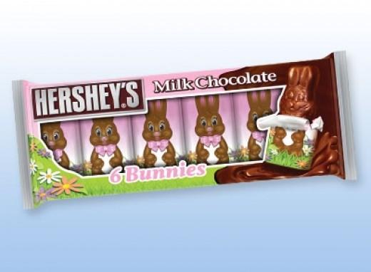 Hershey's Milk Chocolate Bunnies - ALWAYS DOUBLE CHECK PACKAGING/LABELS