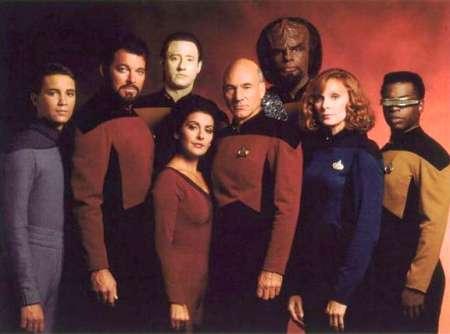 Cast of Star Trek, the Next Generation