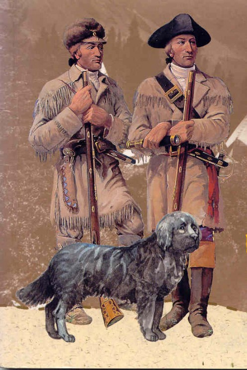 "As the Corps explored the area of the Louisiana Purchase, Lewis's dog was loved and adopted by the crew and became known as ""Our Dog"".  He was a Newfoundland breed and very well suited for the journey, according to Lewis, who had bought him for $20."