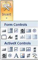 Insert a Scroll Bar in Excel