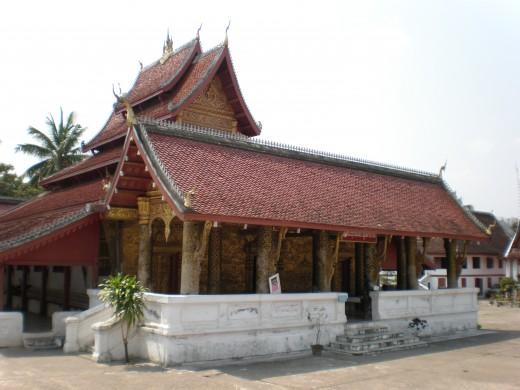 Wat Mal Suwannaphumaham, Luang Prabang, Laos.