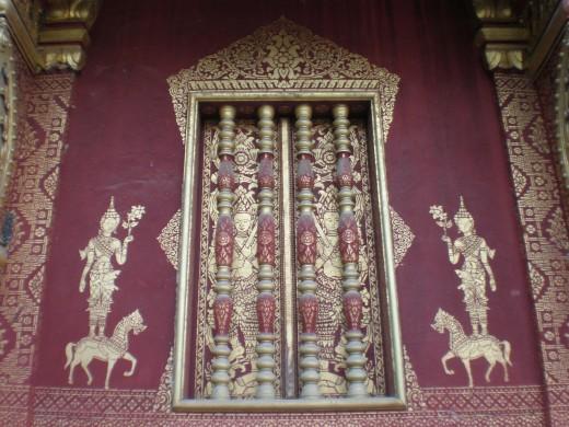 Wat Sirimungkhun, Luang Prabang, Laos.