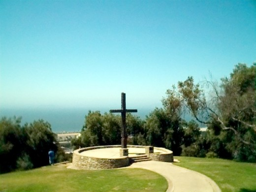 Mission San Buenaventura ~ Father Serra's Cross