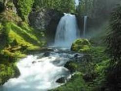 A waterfall on the Na Pali Trail