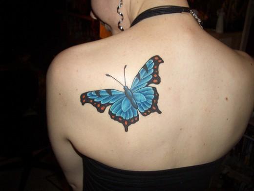Butterfly Tattoo Design, Seekyt