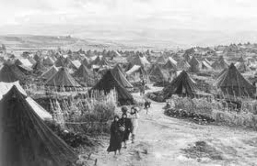 Wiscinians were forced to live in squalid conditions.