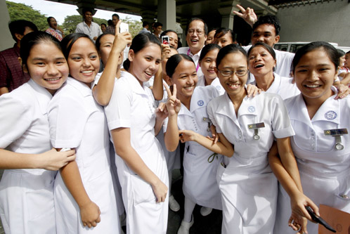 Job opportunities for nurses are limitless