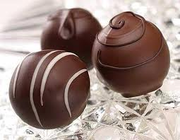 chocolate triple yummy truffles