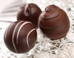 chocolate triple yummy truffles