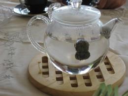 Brewing the tea bundle