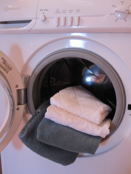Some chemicals are spread to the environment during washing and can become a toxin!