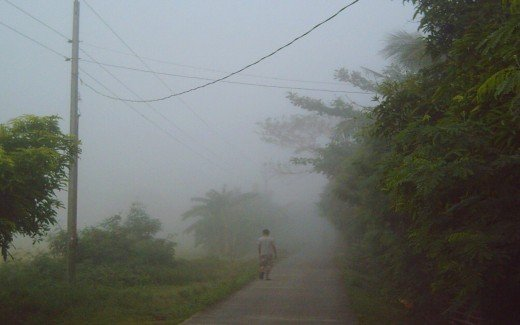 The Man and The Fog (Photo by Travel Man)