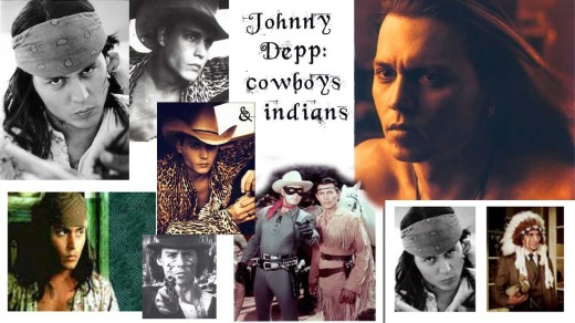 Johnny Depp: cowboys and indians