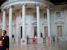 Lincoln White House replica in Lincoln Museum, Springfield