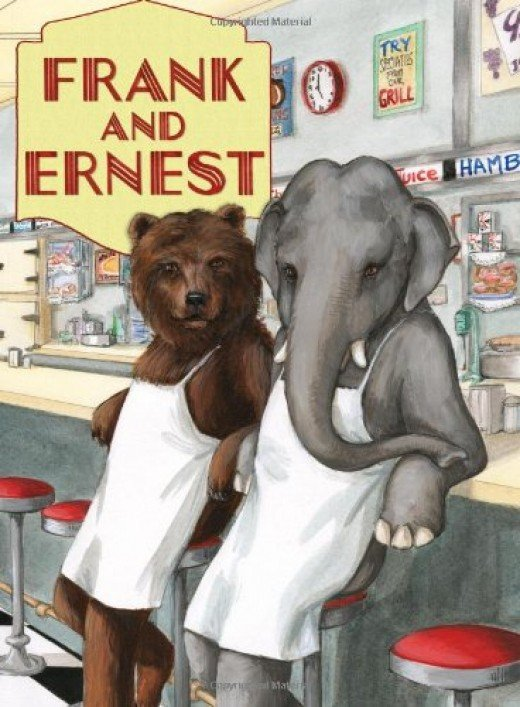 Frank and Ernest take on running a diner.