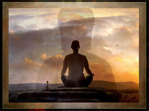 Meditation by h.koppdelaney Hartwig HKD