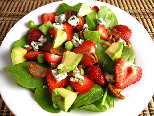 Looks like an healthy salad.