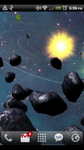 Asteroid Belt screenshot