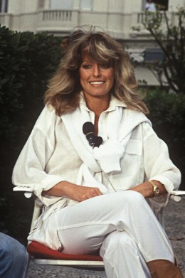 Farrah Fawcett who died due to Anal Cancer