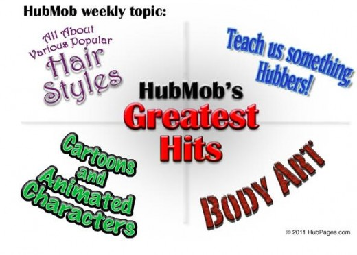 April 2011 HubMob Greatest Hits Graphic