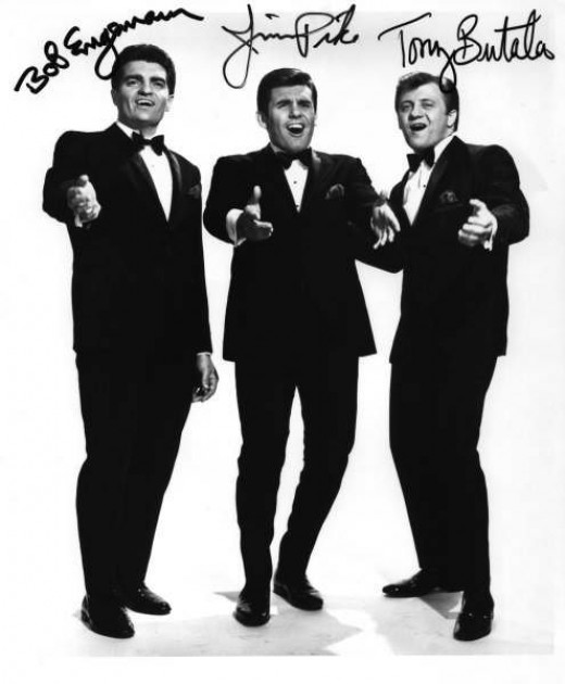 The Lettermen (with: L-R Bob Engemann, Jim Pike and Tony Butala)