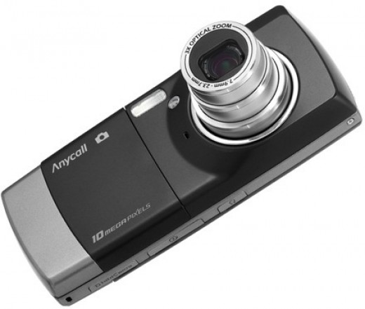 Optical zoom is available in phones also