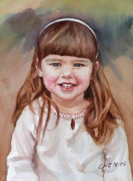 You will also find useful tutorials, free lessons and a learning centre at Chens website. Note: This portrait has been used for illustrative puposes and  Chen's work is not associated with the colour recipe in this hub.