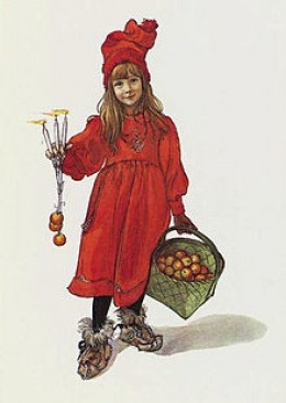 The little Apple Girl