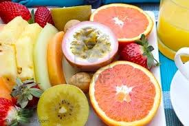 TROPICAL, REFRESHING, COLORFUL, AND HEALTHY!  WHAT MORE COULD YOU WANT FROM A SNACK?