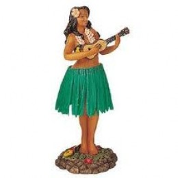AND PLACE A HULA GIRL WITHIN SIGHT!
