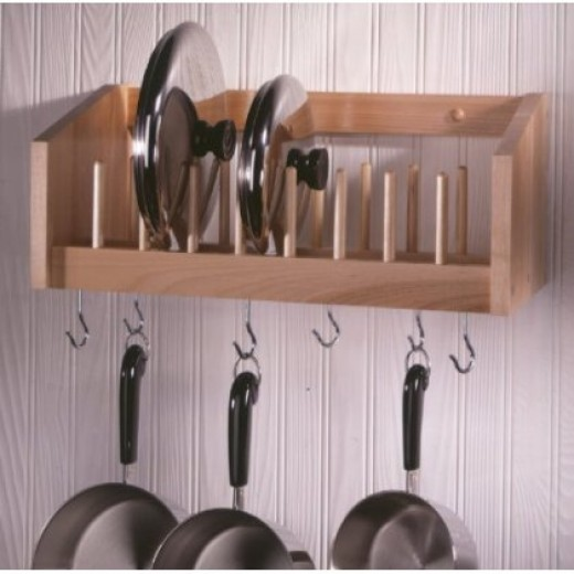 Kitchen pot and pan rack organize your kitchen for Kitchen s hooks for pots and pans