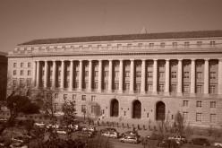 The I.R.S. building, Washington. D.C.