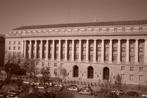 The I.R.S. building, Washington. D.C.