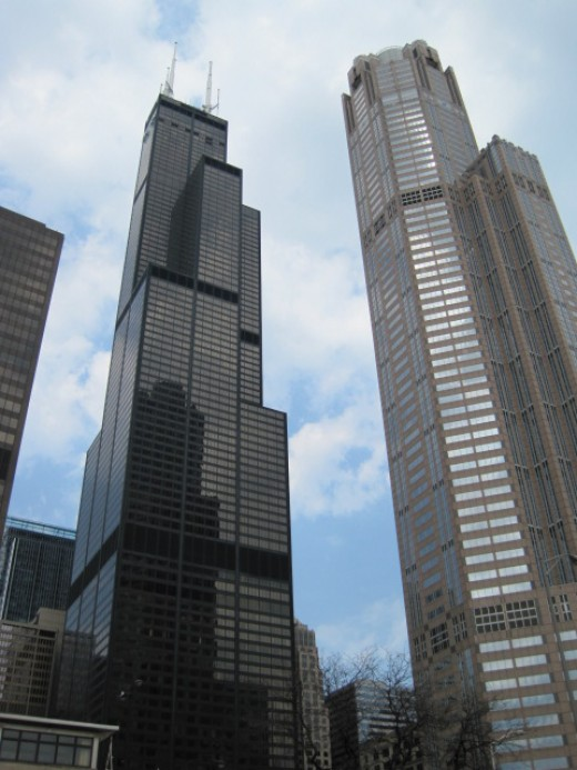 Sears Tower & 311 South Wacker Dr.