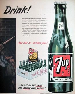 retro 1950s advertising art