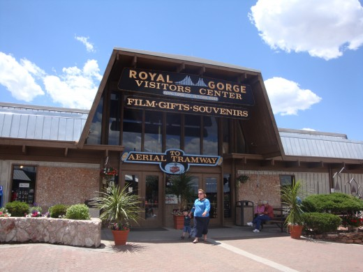Royal Gorge Park Entrance